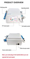 Physical Therapy Professional ED Electromagnetic Extracorporeal Shock Wave Therapy Machine Pain Relief Body Relax CE Massager