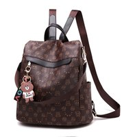 2021 SS Backpack Style Purse Fashion designer PU Leather lady bags top quality Handbags Soft Great Cover women hot ladies Shoulder totes wallet popular purses