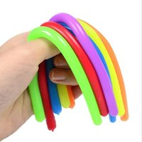 Decompression Toy Fidget Toys Monkey Noodles Rope Stretched Soft Figet Stress TPR Noodle Stretch Children's gift Squishy