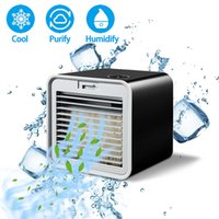 Portable Mini Air Conditioner Fan furnitures Personal Space Air Cooler Home Conditioning Humidifier USB Cooling Office