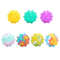 15% 3D Fidget Toys Bubble Ball Game Sensory Toy Snowman ChristmasTree For Autism Special Needs Adhd Squishy Stress Reliever X1015A