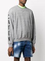 DSQ Phantom Kaplumbağa Hoody Yeni Erkek Tasarımcı Hoodies İtalya Moda Tişörtü Sonbahar Baskı DSQ Hoodie Erkek En Kaliteli 100% Pamuk Tops 0 DGI