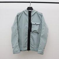 Primavera y otoño chaqueta de hombre diseñador abrigo ropa interior rompevientos con capucha cremallera moda chaquetas con capucha chaquetas abrigos sol-protectores ropa hombres ropa