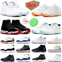 nike air jordan retro 11 11s hombres mujeres zapatillas de baloncesto Bright Citrus Legend Blue Low Jubilee Cool Grey jumpman zapatillas deportivas para mujer para hombre