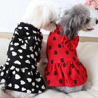 Собака одежда теплые зимние платья для собак кошка принцесса жемчужная точка одежда тюль юбка мягкие костюмы щенок свадьба Petstyle
