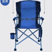 Camp Furniture Outdoor Folding Chair Thickened Bold Portable Backrest Director Leisure Beach Armchair Raft Fishing
