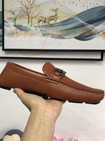 Echte Leder Rindsleder Männer Casual Schuhe Lux Designer Oxford MOCASSIN-Kleid Schuh Zapatos Hombre 40-46