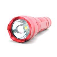Другое светодиодное освещение красный корпус корпус 502b xm-l2 l2 портативный 1000 люменов 18650 горелка Torcia Linterna тактическая ланерная лампа Lanterna