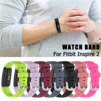 Ersatz-Armbandband für Fitbit Inspire 2 Strap Armband für Inspire2 Silikonschleife Smart Watch Zubehör Verstellbarer Gürtel