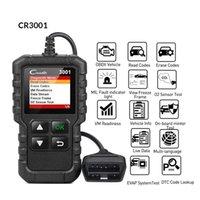 Scanner X431 CR3001 Full OBD2 Scanner OBDII Lettore di codice Auto Diagnostica Auto Spegnere il motore Aggiornamento gratuito PK CR319 ELM327
