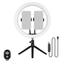 12- Inch Ring Light Live Selfie Ring Light with Desktop Adjus...