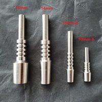 Titanio nail tip necrar collector set di utensili a mano Domeray Accessori per fumare 10mm 14mm 18mm GR2 GR2 GR2 Grado 2 TI Unghie per NC Kit DAB Rigs vs Glass Bong Tubo dell'acqua Bong