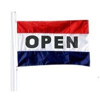 Новый 90x150 см Открытый флаг Реклама Реклама Рекламные флаги 5x3 FT Летающие Висячие Полиэстер Баннер с двумя эскатами Море Доставка DHA660