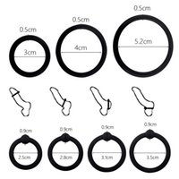 Cockrings 3 4 Penis Rings Cock Sleeve Trainer Delay Ejaculation High Elasticity Time Lasting Sex Toys For Couples Games Men