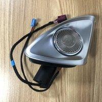 Interioorexternal Lights для - S-Class W223 2021 64-Color Автомобильный светодиодный неоновый атмосферный лампа Оригинальный 4D вращающийся динамик Tweeter Ambi