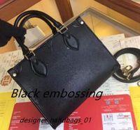 Donne Designer Designer Designer M45779 Signore Tote Shopping Bags Borse Moda OnThego PM Classic Letter Borsa