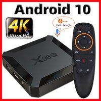 X96Q TV Box Android 10 Smart TV BOX X96 Q TVBox Allwinner H313 Quad Core 4K 60fps 2.4G Wifi Google Playstore Youtube vs X96 mini