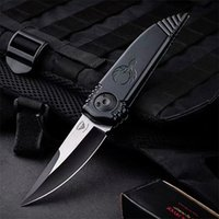 Tactical Folding Knife 9Cr13Mov Wire Drawing Blade Aluminum Handle Outdoor EDC Pocket Knives With Retail Box