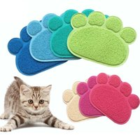 Cat Beds & Furniture Pet Small Footprint Foot Sleeping Pad Placemat Litter Mat Dog Puppy Clean Feeding Dish Bowl Table Mats Wipe Easy