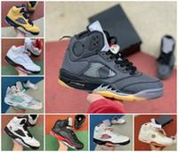2021 Top Quality Jumpman 5 O que a vela mulheres homens de basquete shoes 5 uva alternativa 5s fogo vermelho Oregon Ducks Mens Treinadores Sneakers