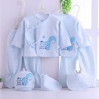 Emotion Moms (8шт / комплект) Младенческая одежда 0-3 м Новорожденных детских костюмов малыша одежда наборы для детей мальчики девочек костюм термический органический хлопок 210309