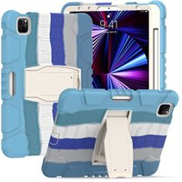 Silicone PC Tablet Cases for iPad 10.2 [7th 8th Gen] Mini 5 4 Air 3 2 1 Pro 11 10.5 9.7 inch Samsung Galaxy Tab T220 T500 T510 T290 T720 T860 P610 Shockproof Protection Case
