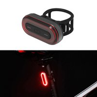 USB قابلة للشحن دراجة الخلفية الخلفية الدراجات الصمام الخلفي عودة مصباح مصباح يدوي للدراجات للطي دراجة الملحقات الذيل ضوء