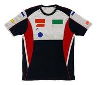 Moto Ciclismo de manga corta Motocicleta Speed Speed Suits T-shirt Top de equipo de verano puede ser personalizado