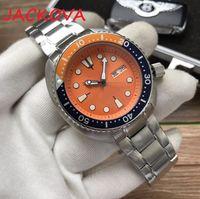 Top Mens Mechanical Men Nuova 2813 Movimento automatico Orologio da uomo Sport Moda Sport Auto-velo orologi da polso Simple Designer Giallo orologio