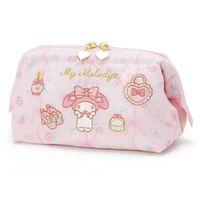 Belle maquillage rose sacs cosmétiques dessin animé ma mélodie Little Twin Stars Nylon Pouch Beauty Cas de toilette Sac de stockage pour filles Cadeau
