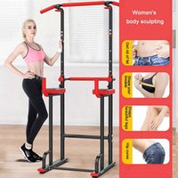 Lifting Up Stands Home Gym Indoor Pulling Bar Horizontal Sport Fitness Equipment Multifunction Workout Training Power Tower Dip Station Adjustable Multi-Function