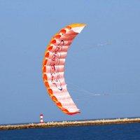 Volwassen speelgoed parachute dual lijn stunt vlieger parapente parafoil nylon sport kite reizen paragliding kitesurf sport speelgoed