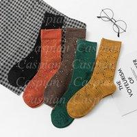 Lettera glitter traspirante calze multicolor donne donne ragazza calzino per regalo moda hosiery prezzo all'ingrosso di alta qualità