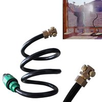 Pool & Accessories Portable Sprayer Spray Tube Irrigation Flexible Hose Serpentine Convertible Head Nozzles Water Mist Fogs Cooling System
