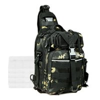 Fishing Accessories Lixada Tackle Storage Bag Shoulder Backpack Gear Portable Waterproof Oxford