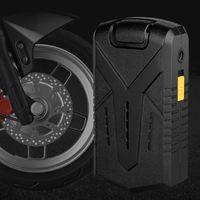 Pompe per biciclette Mini Compressore d'aria portatile con ginocchio di pressione digitale Pompa gonfiatore per biciclette per moto auto