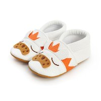First Walkers Fashion Baby Boy Girl Breathable Cartoon Animal Pattern Anti-Slip Shoes Casual Sneakers Toddler Soft Soled