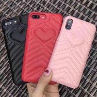 حالة هاتف ديلوكس لفون 12 11 12 12PRO 11PRO XS XS MAX XR 8 7 Plus جلد الحب القلب غطاء الهاتف لسامسونج Note10 S20 S10 Plus
