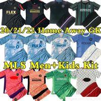 21/22 MLS 2021 x Parley Primeblue Futebol Jerseys La Galaxy Inter Miami Atlanta United Austin Lafc Toronto New York Home Away Goleiro