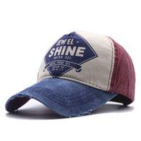Hommes Capuchon de baseball lavé Hollow Messy Bun Trucker chapeau de queue de queue de queue de queue d'été Summer Sun Caps