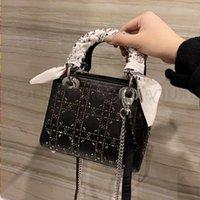 TOP Quality Luxurys 2021 Bags Clutch Fashion CrossBody Diamonds Bag Handbags Totes Saddle Designers Shoulder Mini Lady Hot Handbag Wome Ginc
