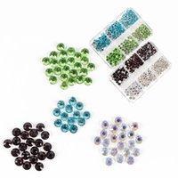 Украшения для ногтей Художественные украшения Rhinestones Beb Gems Chem Crystal Стеклянные камни Маникюр Сверло Салон Поставляет Ногтей Аксессуары Инструменты