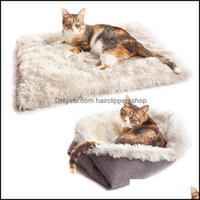 Cat Supplies Home Gardencat Beds & Furniture Dual Use Square Puppy Pet Dog Soft Warm Nest Kennel Bed Cave House Slee Bag Mat Pad Tent Pets W
