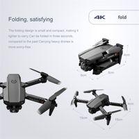 Hot LSRC LS-XT6 Mini WiFi FPV mit 4k / 1080p HD Dual Camera HOLD MODE Faltbare RC DRONE Quadcopter RTF