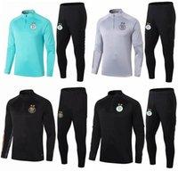 2020 2021 الجزائر الرجال Soccer Bracksuit Jacket Survetement 20 21 Mailleot de Foot Feaghoul Mahrez Bounedjah كرة القدم دعوى