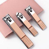 4-12-16 PC per unghie Taglierina Professionale Forbici in acciaio inox Grooming Kit Art Cuticole Utility Strumenti per unghie Clipper Manicure Set