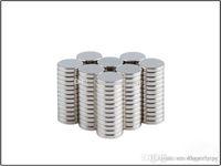 DHL Free Neodymium magnet permanente N35 12 mm x 1.5mm NDFEB Super Súper Fuerte potente Imanes magnéticos Pequeño disco redondo