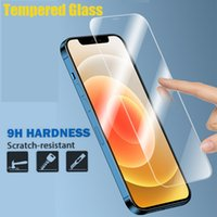 Tempered Glass Protectors Film 9H 2.5D 0.33mm Screen Protector For iPhone 13 Pro Max 12 Mini 11 X Xr Xs 8 7 6 6S Plus