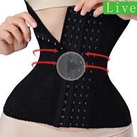 Women's Shapers Waist Trainer Binders Modeling Strap Corset Slimming Belt Underwear Body Shaper Shapewear Faja Tummy Women