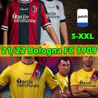 2021 2022 Bologna FC 1909 Futbol Formaları BFC Maglia Da Calcio Sansone Orsolini Santander Palacio Dominguez Tomiyasu Barrow Soriano Svanberg 21/22 Futbol Gömlekleri